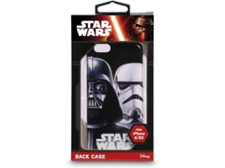 Capa DISNEY Star Wars iPhone 6, 6s Preto — Compatibilidade: iPhone 6, 6s