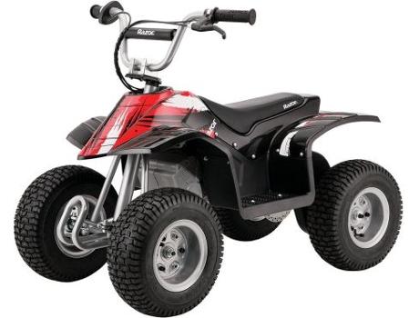 Moto 4 Elétrica RAZOR Dirt Quad Preta