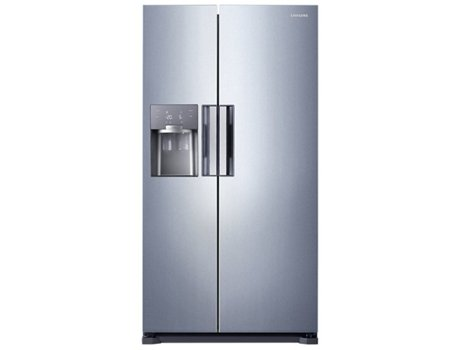 Frigorífico Americano SAMSUNG RS54HDRPBSL — A+++ / No Frost / Refr. 361L Cong. 184L