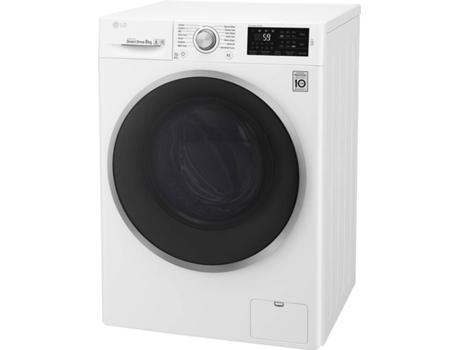 6b88d12e14 Máquina de Lavar Roupa LG F4J6TN1W (8 kg - 1400 rpm - Branco ...