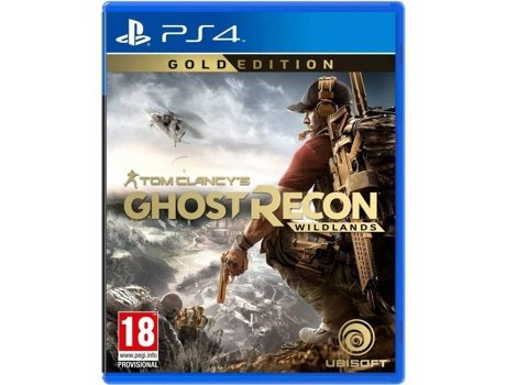 Jogo PS4 Tom Clancy's Ghost Recon: Wildlands (Gold Edition) — Ação/Aventura | Idade mínima recomendada: 18