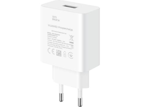 Carregador HUAWEI Supercharge (USB C Branco)   Worten.pt