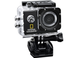 Action Cam NAT GEOGRAPHIC 9683000LC300 Preto — Full HD / 900 mAh