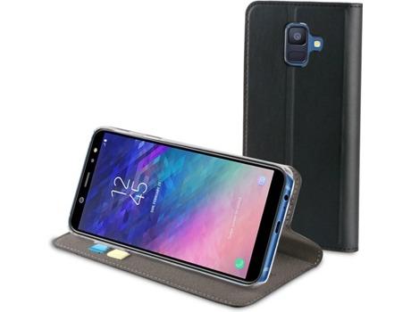 f705e7997 Capa MUVIT Book Samsung Galaxy A6 2018 Preto