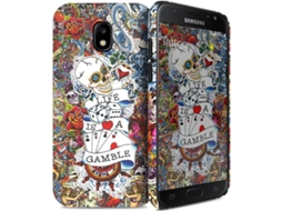 Capa I-PAINT Tattoo Samsung Galaxy J5 2017 Multicor — Compatibilidade: Samsung Galaxy J5 2017