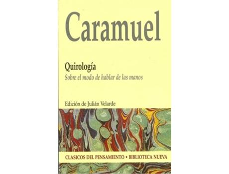 Livro Quirologia de Juan Caramuel De Lobkowitz