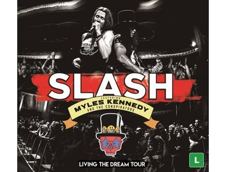 CD+DVD Slash featuring Myles Kennedy And The Conspirators - Living The Dream Tour (3 CDs)