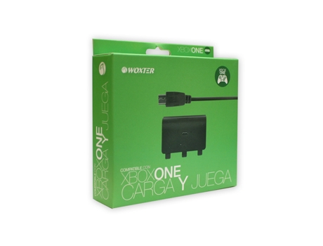 Play & Charge WOXTER Xbox One — Compatibilidade: XBOX ONE