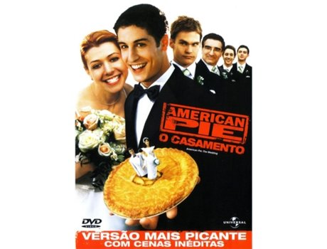 DVD American Pie 3 - O Casamento — De: Jesse Dylan | Com: Jason Biggs,Alyson Hannigan,Seann William Scott,Eugene Levy,Eddie Kaye Thomas
