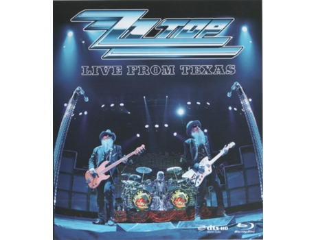 Blu-ray ZZ Top - Live From Texas