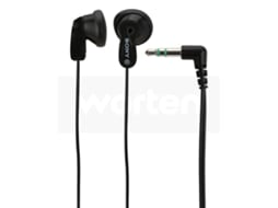 Auriculares Com fio SONY MDR-E9LP (In Ear - Preto) — In Ear