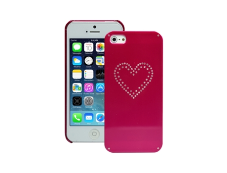 Capa SBS Bijoux iPhone 5, 5s, SE Rosa — Compatibilidade: iPhone 5, 5s, SE