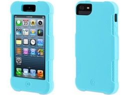 Capa GRIFFIN Griffin Protector iPhone 5, 5s, SE Azul — Compatibilidade: iPhone 5, 5s, SE