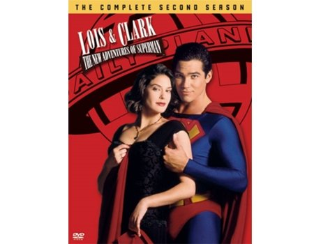 DVD Lois e Clark - Aventuras do Superhomem — De: Joe Shuster, Jerry Siegel | Com: Dean Cain, Teri Hatcher, Lane Smith