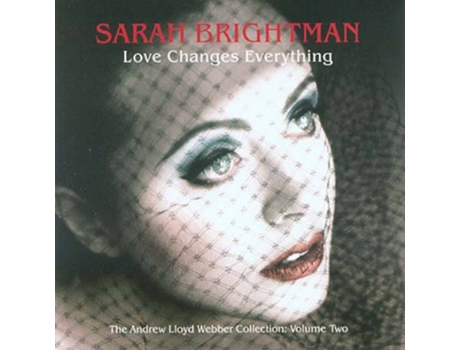 CD Sarah Brightman - Love Changes Everything — Romântica