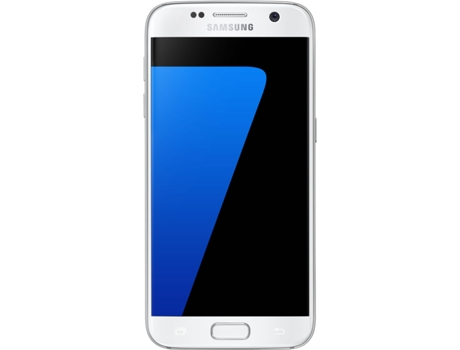 Smartphone SAMSUNG Galaxy S7 32GB Branco — Android 6.0 / 5.1'' / Octa core 4x2.3 + 4x1.6 Ghz / 4 GB RAM