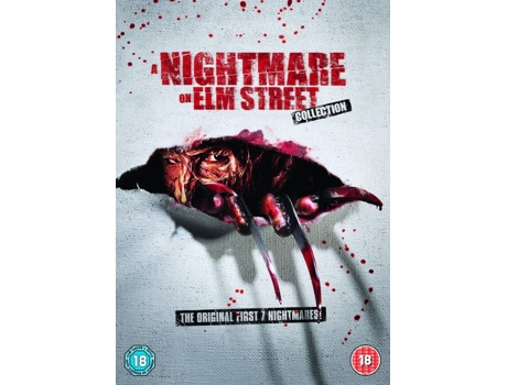 DVD Nightmare On Elm St 1-7 Inglês