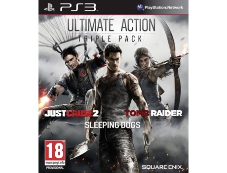 Jogo PS3 Ultimate Action Triple Pack