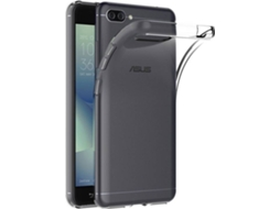 Capa MUVIT Crystal Asus Zenfone 4 Max Transparente — Compatibilidade: Asus Zenfone 4 Max