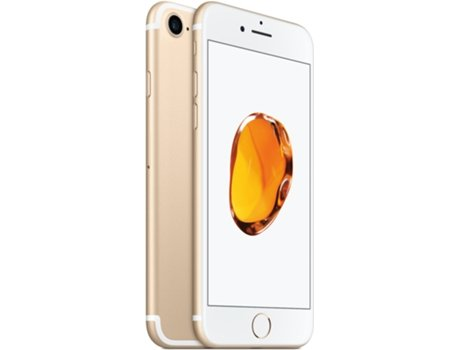 Smartphone APPLE iPhone 7 32GB Dourado — iOS 11 | 4.7'' | A10 Fusion