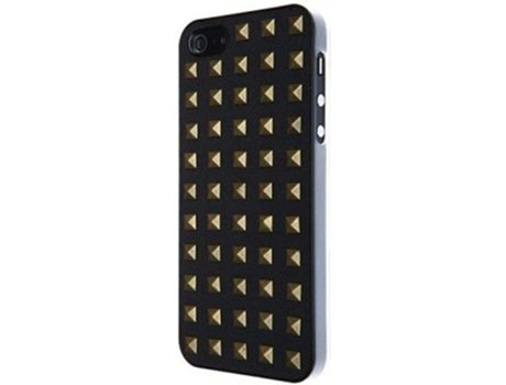 Capa VCUBED3 Metal Square iPhone 5, 5s, SE Dourado — Compatibilidade: iPhone 5, 5s, SE