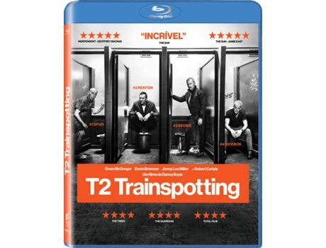 Blu-Ray T2 Trainspotting — Do realizador Danny Boyle