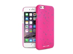 Capa PURO Paint iPhone 6, 6s Rosa — Compatibilidade: iPhone 6, 6s
