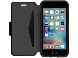 Capa iPhone 6, 6s, 7, 8 OTTERBOX Symmetry Etui Preto — Compatibilidade: iPhone 6, 6s, 7 ,8