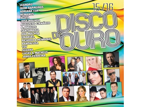 CD Disco de Ouro 15/16 — Portuguesa