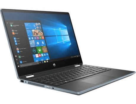 Portátil Híbrido HP Pavilion x360 - 14-DH0004NP - 6EM63EA (14'' - Intel Core i3-8145U - RAM: 4 GB - 128 GB SSD - Intel UHD 620) — Windows 10 Home | Full HD