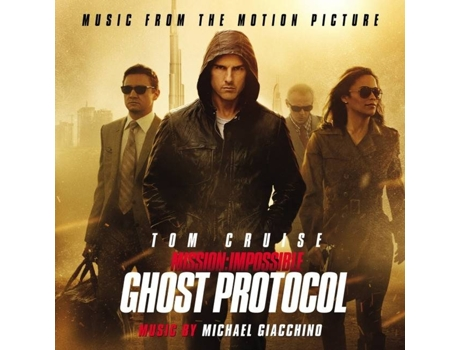 CD Michael Giacchino - Mission: Impossible - Ghost Protocol (Music From The Motion Picture)