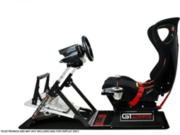 Cadeira Gaming Racing Simulator Next Level GTultimate v2 — Preto e Vermelho