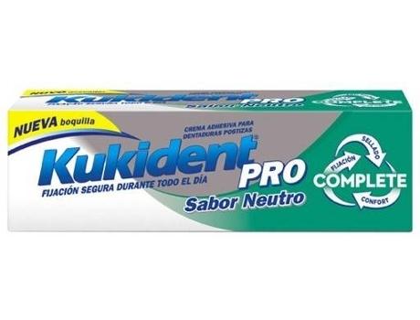 Creme Prótese Dentária KUKIDENT Sem Sabor (47 gr)