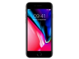 Smartphone APPLE iPhone 8 256GB Cinzento sideral — iOS 11 / 4.7'' / A11