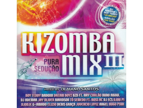 Cd Kizomba Mix 3 - Mixed By Manu Santos — Kizomba
