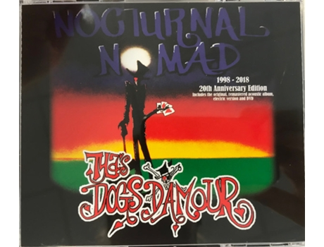 CD Tyla's Dogs D'amour - Nocturnal Nomad - 20th Anniversary Edition