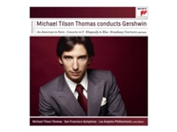 CD Michael Tilson Thomas - Conducts Gershwin — Clássica