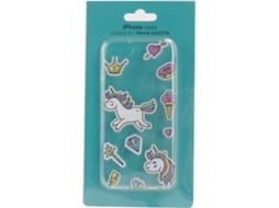 Capa KUNFT unicorn iPhone 6, 6s, 7, 8 Multicor — Compatibilidade: iPhone 6, 6s, 7, 8
