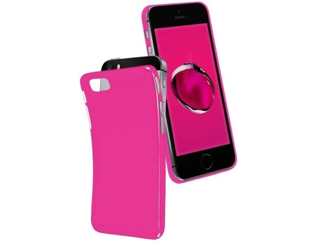 Capa SBS Cool iPhone 5, 5s, SE Rosa — Compatibilidade: iPhone 5, 5s, SE