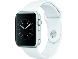 APPLE Watch Series 1 42 mm Silver Aluminium Case White Band — iOS / 42 mm / Bluetooth 4.0 e Wi-fi