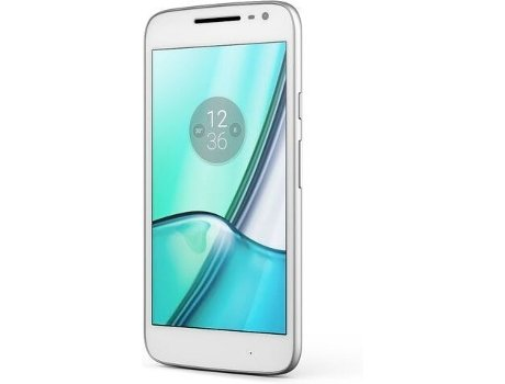 Smartphone LENOVO Moto G4 Play White — Android 6.0.1 / 5'' / Quad-Core 1.2 Ghz