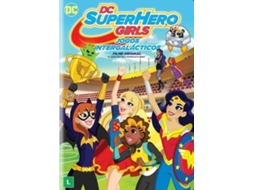 DVD DC Super Hero Girls: Jogos Intergalácticos — De: Cecilia Aranovich  / Com: Tara Strong,  Mae Whitman