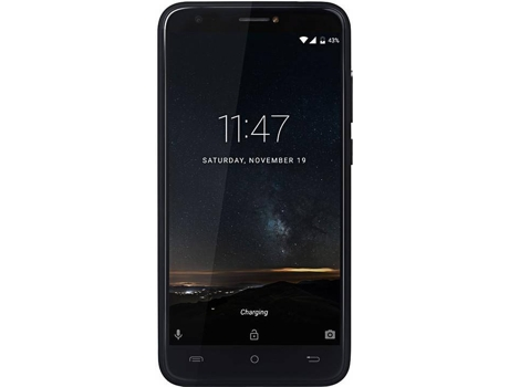 Smartphone CUBOT Hafury Mix 16 GB Preto — Android 7.0 | 5.0'' | Quad-core 1.3 GHz | 2GB RAM | Dual SIM