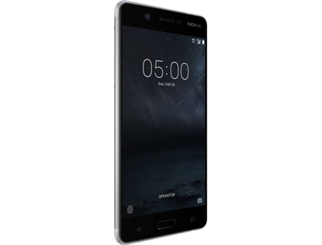 Smartphone NOKIA 5 DS 16 GB Prateado — Android Nougat /5.2'' / Octa Core Snapdragon 430