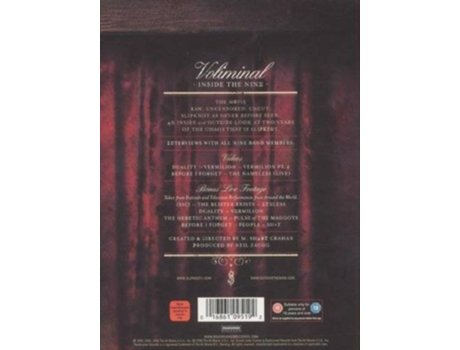 CD/DVD Slipknot - Voliminal Inside The Nine — Pop-Rock