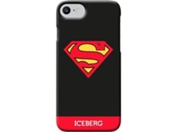 CAPA ICEBERG SUPERMAN IPH8/7/6/6s LOGO — Compatibilidade: iPhone 6s/7