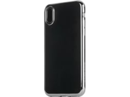 Capa TUCANO Elektro Flex iPhone X Prateado — Compatibilidade: iPhone X