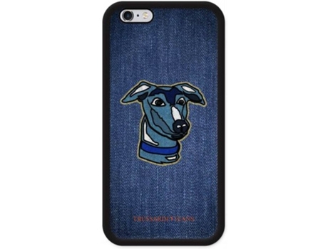 Capa TRUSSARDI Jeans Case iPhone 7, 8 — Compatibilidade: iPhone 7, 8