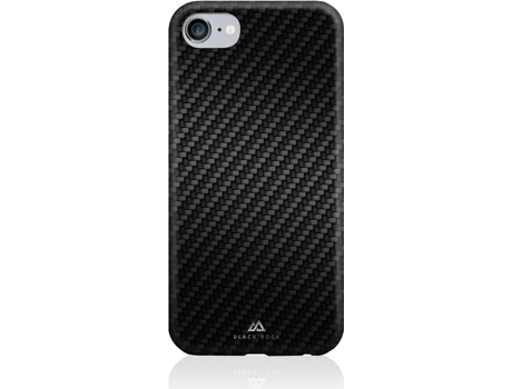 Capa BLACK ROCK Carbon iPhone 6, 6s, 7, 8 Preto — Compatibilidade: iPhone 6, 6s, 7, 8