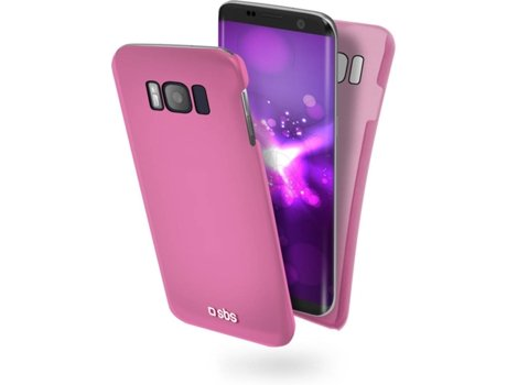 Capa SBS Color Feel Samsung Galaxy S8+ Rosa — Compatibilidade: Samsung Galaxy S8+